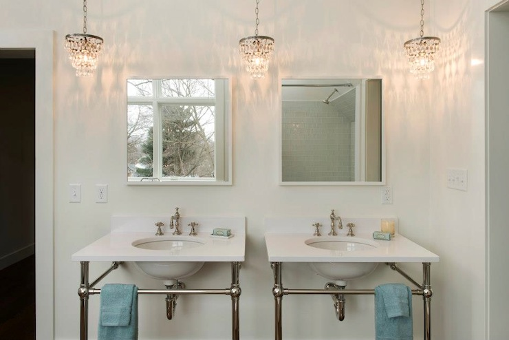 Bathroom Flush Mount Light