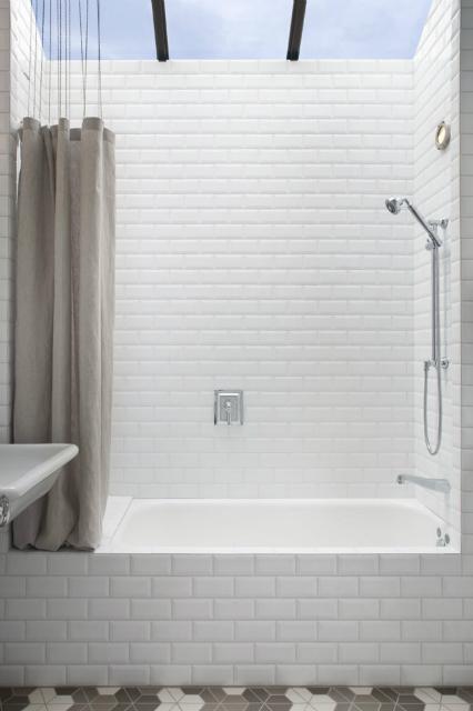 heath ceramics dwell half hex tiles