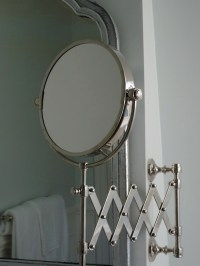 Extension Mirror - Traditional - bathroom - Behr Glimmer ...