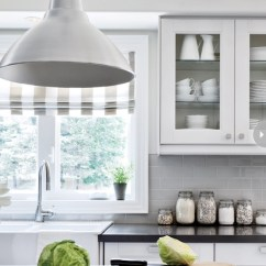 Ikea Kitchen Upper Cabinets Sink Oakley Foto Lamps - Transitional Style At Home
