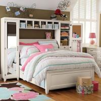 Hampton Storage Bed + Mirror Tower Set - PBteen