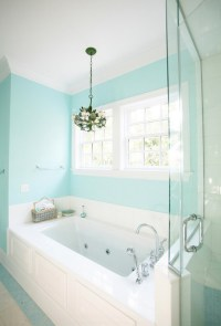 Tiffany Blue Wall Color Design Ideas