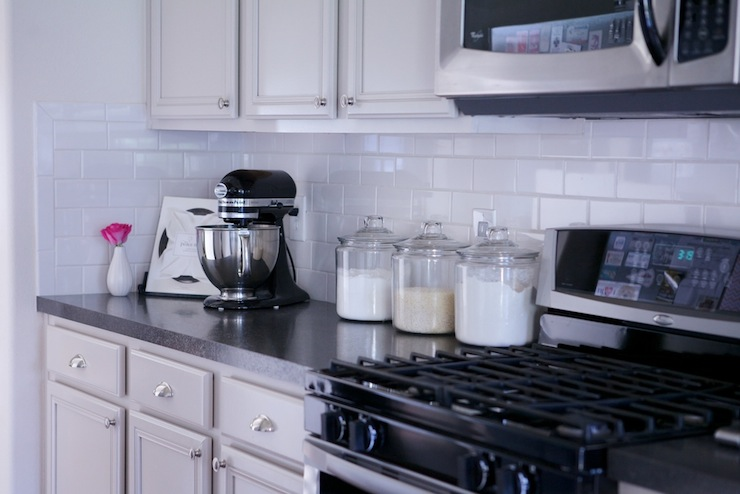 kitchen aid mixer accessories ikea islands martha stewart sharkey gray - transitional ...