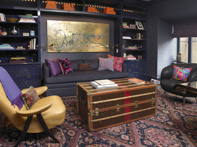 Louis Vuitton Trunk Coffee Table  Eclectic  denlibrary