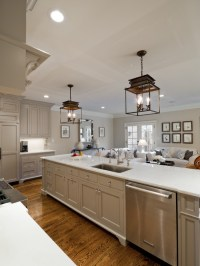 Kitchen Cabinets Painted Gray - Cottage - kitchen ...