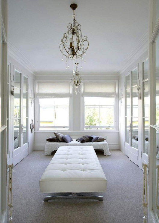 French Closet Mirrored Doors by Emily Wheeler