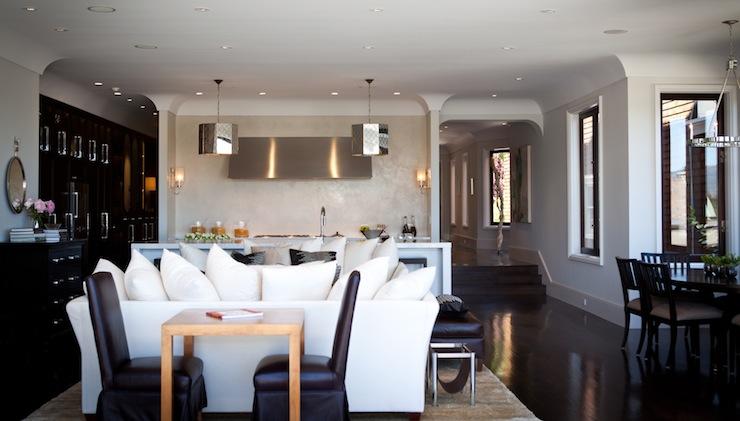Open Floor Plan Kitchen  Contemporary  kitchen  Marsh