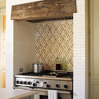 overmount kitchen sink tile backsplash walker zanger subway - transitional ...