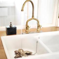 Bridge Faucets Kitchen Retro Style Appliances Faucet Design Ideas Antique Brass