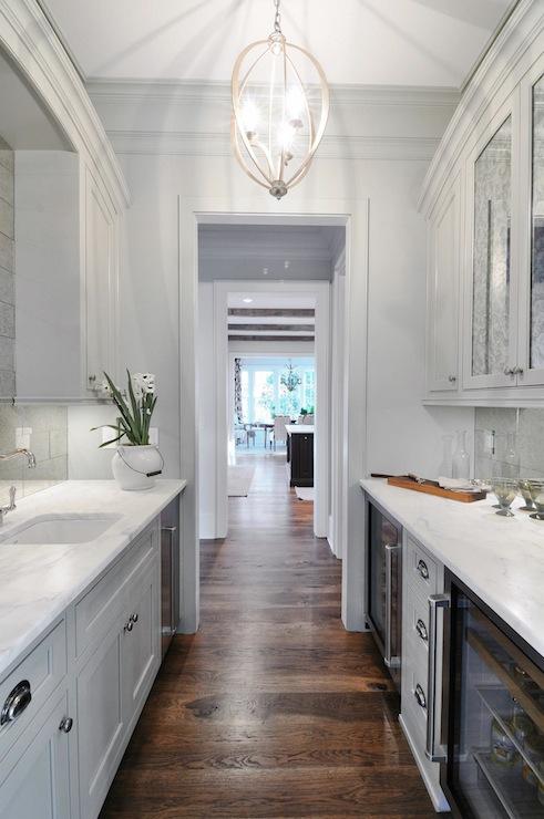 Bella Luna Chandelier  Transitional  kitchen  Insidesign
