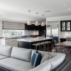 Acrylic Chairs With Cushions Chair Chrome Steel Legs Gray Leather Sectional - Contemporary Living Room Highgate House