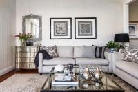 Light Gray Sofas - Transitional - living room - Highgate House