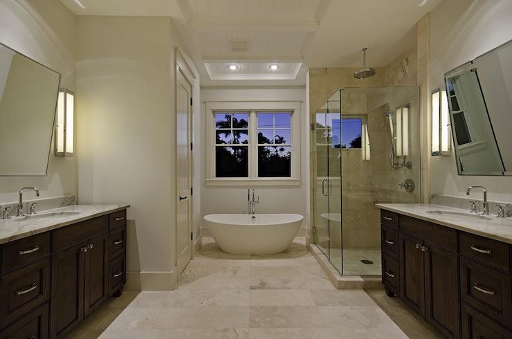 Vanities Facing Each Other  Traditional  bathroom  mhkap