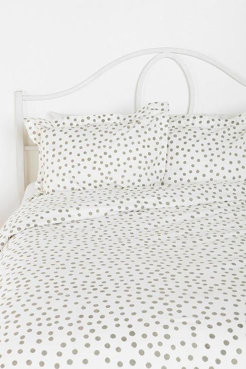 Plum  Bow Polka Dot Sham  Set Of 2 I Urban Outfitters