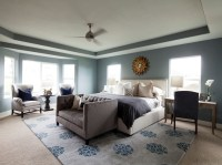 Tray Ceiling Bedroom - Transitional - bedroom - TRI Traci ...