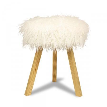 Furry Stool I Furbish Studio