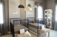 Twin Nursery Design - Contemporary - nursery - Finnian's ...