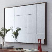 Multi-Panel Foxed Mirror - west elm