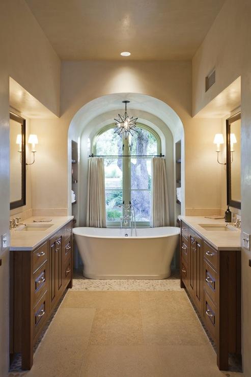 Bathtub Alcove  Eclectic  bathroom  Wolfe Rizor Interiors
