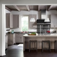 Taupe Cabinets - Contemporary - kitchen - Ryan Street and ...