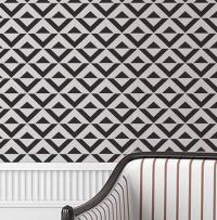 Wall Stencil Geometric Chevron Zig Zag Arrow by ...