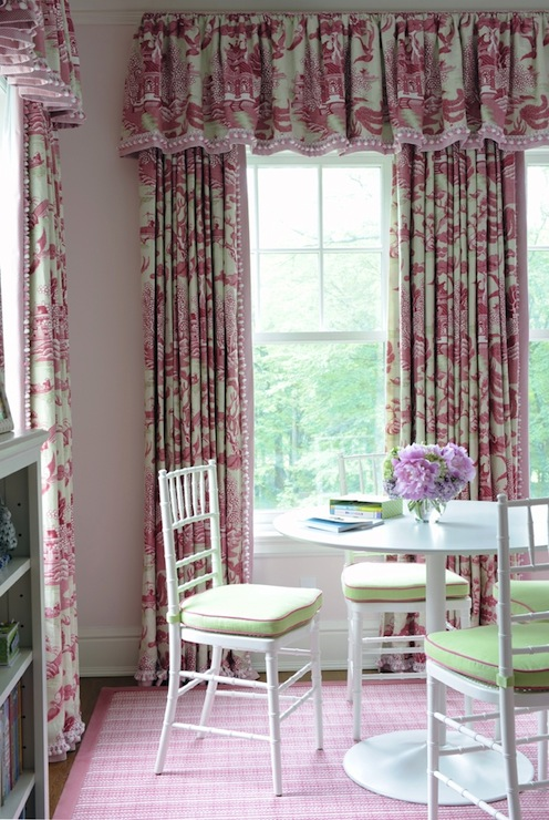ikea chairs living room banquet style toile curtains - transitional girl's kerry hanson design