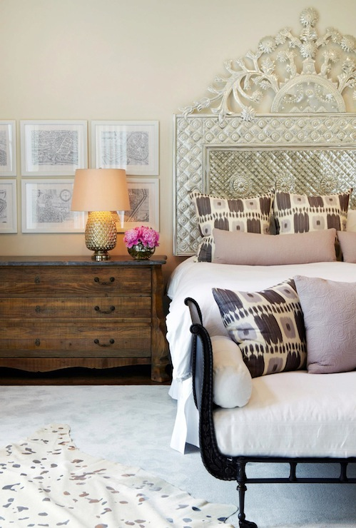 Ornate Headboard Design Ideas