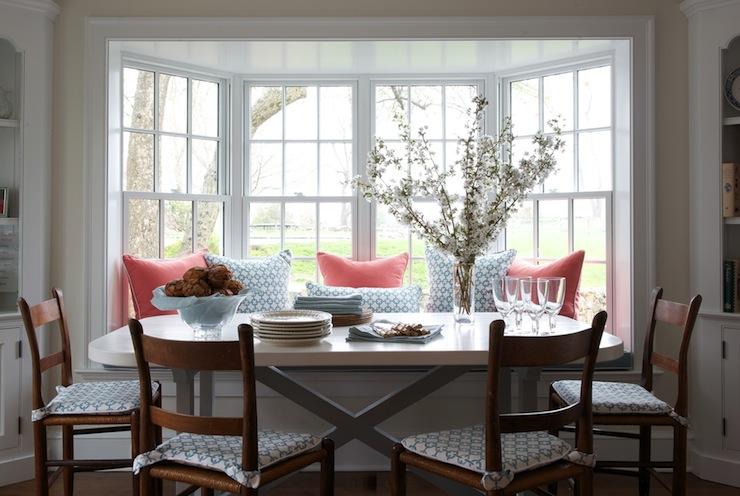 Bay Window Banquette Design Ideas