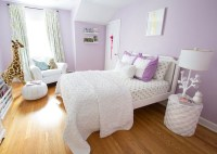 Purple Ceiling - Contemporary - girl's room - Artistic ...