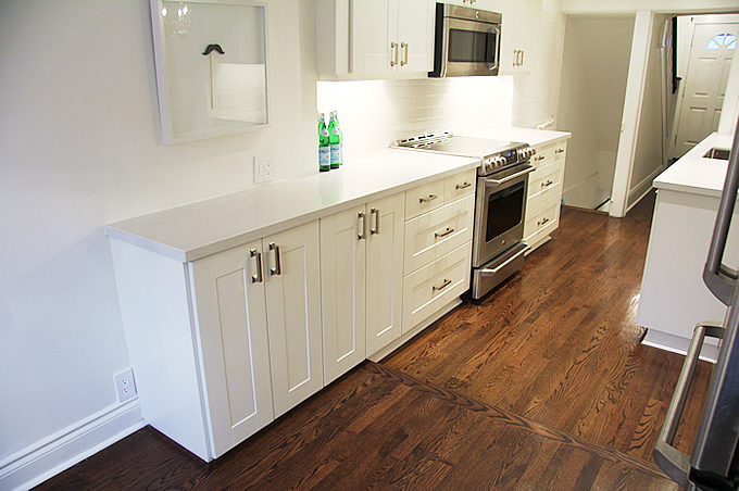 ikea kitchen countertops fridge misty carrera transitional benjamin moore