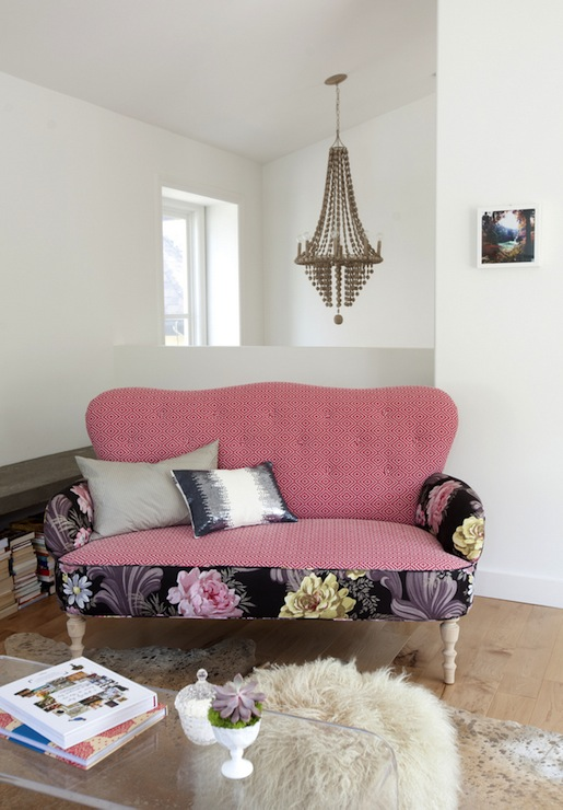 Bohemian Sofa  Eclectic  living room  The Cross Decor