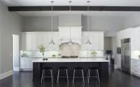 Black and White Kitchen Cabinets - Contemporary - Kitchen ...