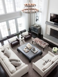 2 Story Curtains - Transitional - living room - Benjamin ...