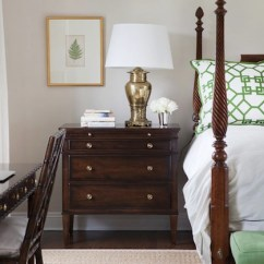Bamboo Dining Chair Wooden Office White And Green Bedding - Transitional Bedroom Morgan Harrison Home