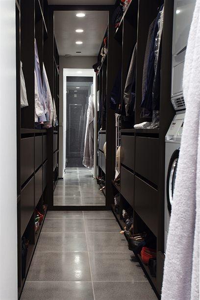 Friends Boy And Girl Wallpaper Espresso Closet Cabinets Contemporary Closet Per Jansson