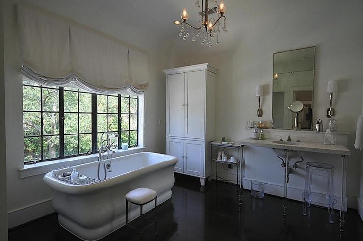 Master Bathroom Stool  Transitional  bathroom  HAR