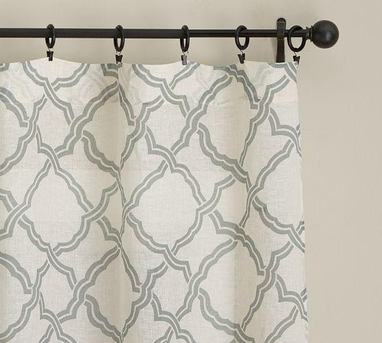 trellis curtain panel