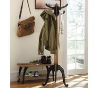 Industrial Coat Rack