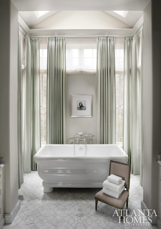 Alcove Bathtub  Transitional  bathroom  Mark Williams Design
