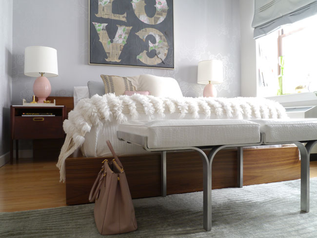 Platform Bed  Eclectic  bedroom  Modern Declaration