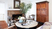 Living Room Armoire - Transitional - living room - Domaine ...