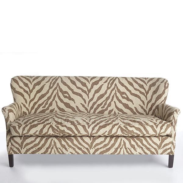 Zebra print sofas wwwenergywardennet for Zebra sectional sofa
