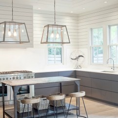 Metal Kitchen Island Win Makeover Contemporary Heather A Wilson