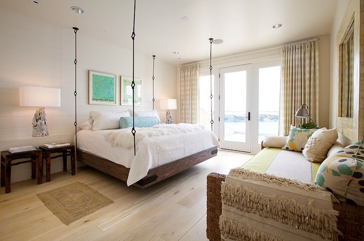 Hanging Bed  Eclectic  bedroom  Tracy Hardenburg Designs