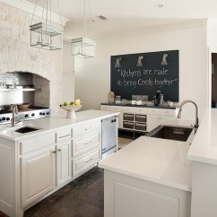 Kitchen Prep Station Large Window Curtains Stove Alcove - Transitional Tracy Hardenburg ...
