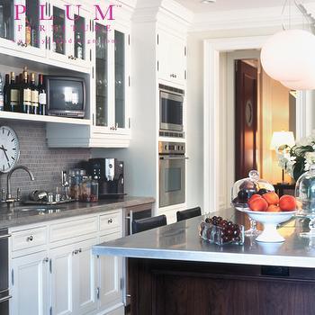 stainless steel shelf kitchen elegant curtains above sink design ideas