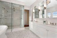 Shower for 2 - Transitional - bathroom - Carole Reed Design