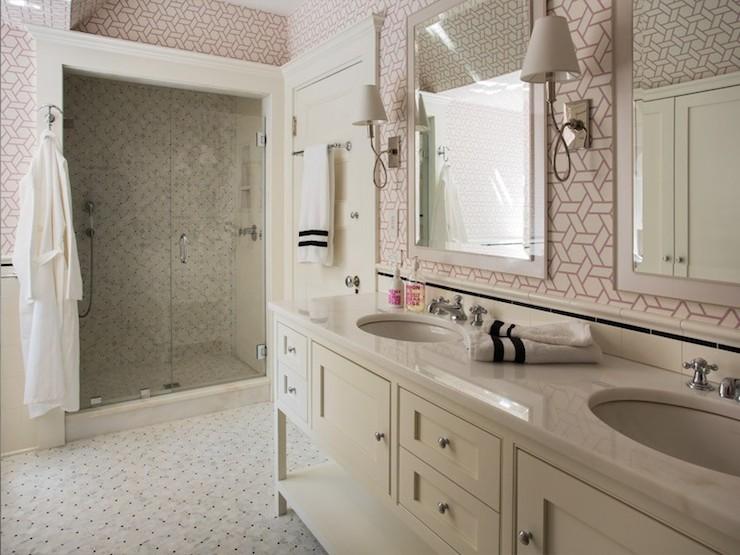 Girls Bathroom Ideas  Contemporary  bathroom  Liz Caan