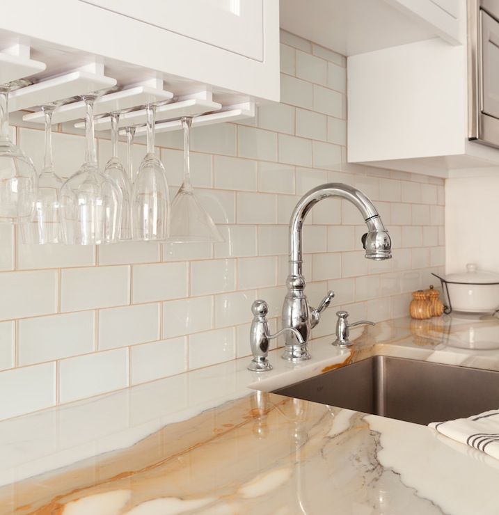 white and gold marble contemporary kitchen emily gilbert photography