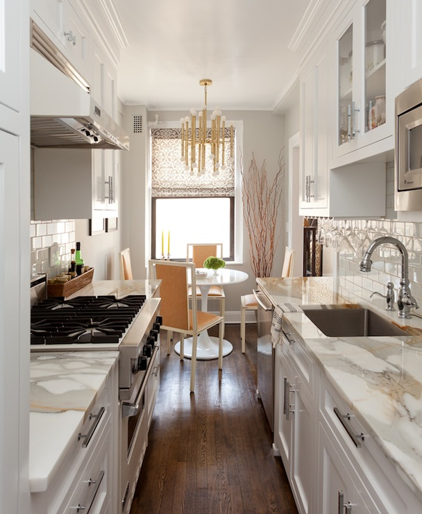 Galley Kitchen Ideas  Contemporary  kitchen  Emily